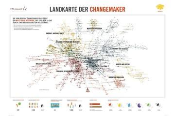 Landkarte der Changemaker